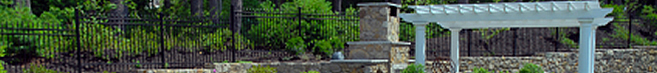 Custom pergolas and metal fencing
